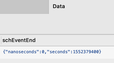 Firestore DateTime field loading as nanoseconds and seconds - React